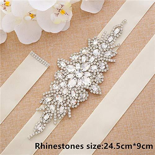 STREET Off-white bruiloft riem accessoires off-white lint riem voor bruiloft accessoires