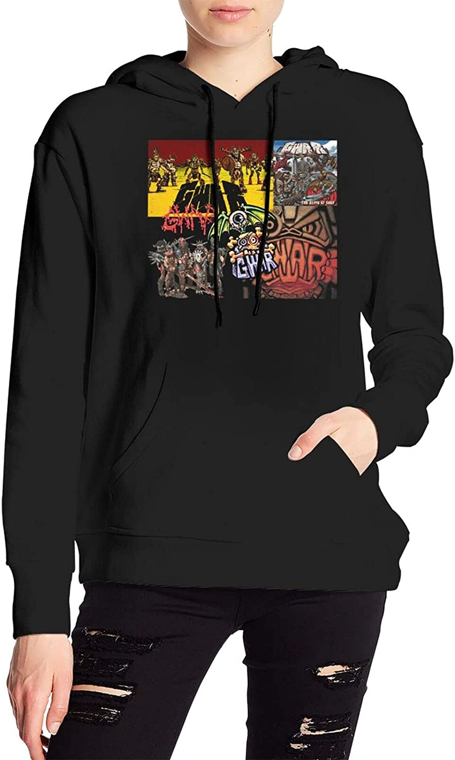 Gwar Sweater Graphic Hoody With Pocket For Men Women