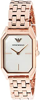 Emporio Armani Women's AR11147 Analog Quartz Rose Gold Watch