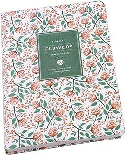 Tonver Petit frais Floral personnalité ordinateurs portables Journal Organiseur..