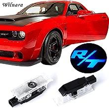 LED Car Door Logo Dodge Challenger Projector Ghost Shadow Courtesy Light Welcome Light for Dodge Challenger Scat Pack RT SRT SXT GT SE-No11