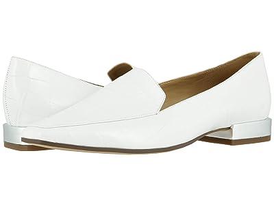 Naturalizer Clea (White Croco Print Leather) Women