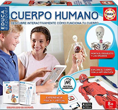 Educa Borrás - Conoce tu Cuerpo, Juego Educativo con App (16560)