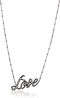 Just Cavalli Pendant Necklace for Women, Stainless Steel - JCNL00340400