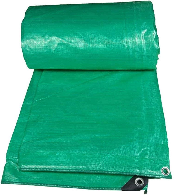 ATR Auenzelt Plane dick doppelseitig regendicht klteBestendig LKW-Schuppentuch Outdoor-Sonnenschutz Sonnenschutz abriebfestes Kunststofftuch, grün