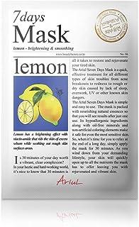 アリウル 7days シートマスク レモン(透明感&くすみケア)