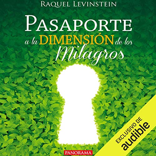 Pasaporte a la dimensión de los milagros [Passport to the Dimension of Miracles] audiobook cover art