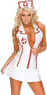 SxyBox Picardias Mujer Sexy Disfraz Enfermera Colegiala