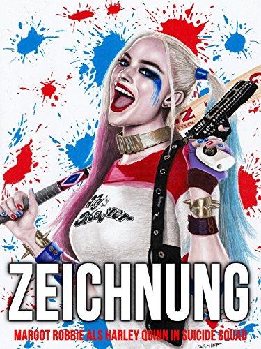 Clip: Zeichnung Margot Robbie als Harley Quinn in Suicide Squad