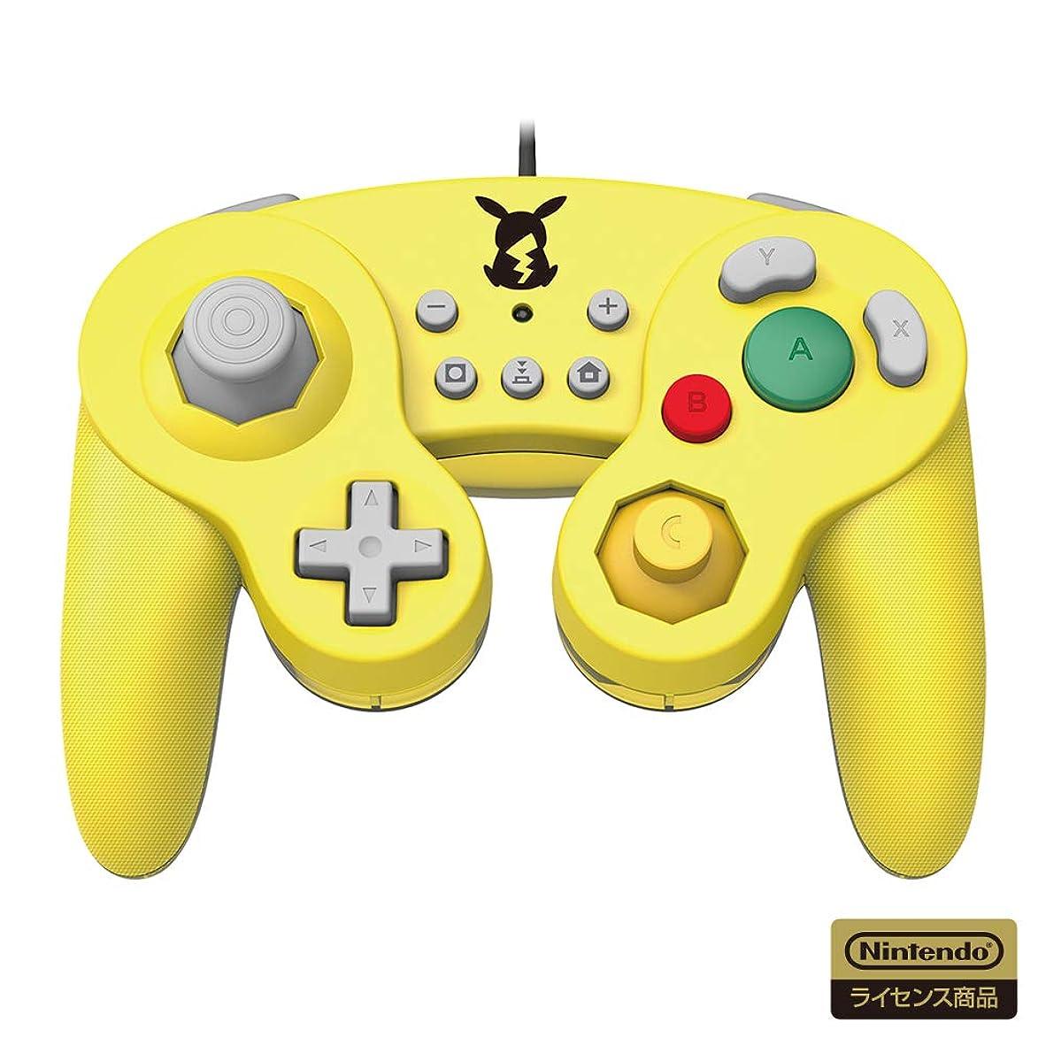 防止本止まる【任天堂ライセンス商品】ホリ クラシックコントローラー for Nintendo Switch ピカチュウ【Nintendo Switch対応】