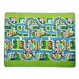 belupai Play Mat Baby Kids Games Cojín de piso de espuma, alfombra de juego educativa de arrastre 2 Side Kids Playing Gats Mats Regalo ideal para regalo de bebé bebé