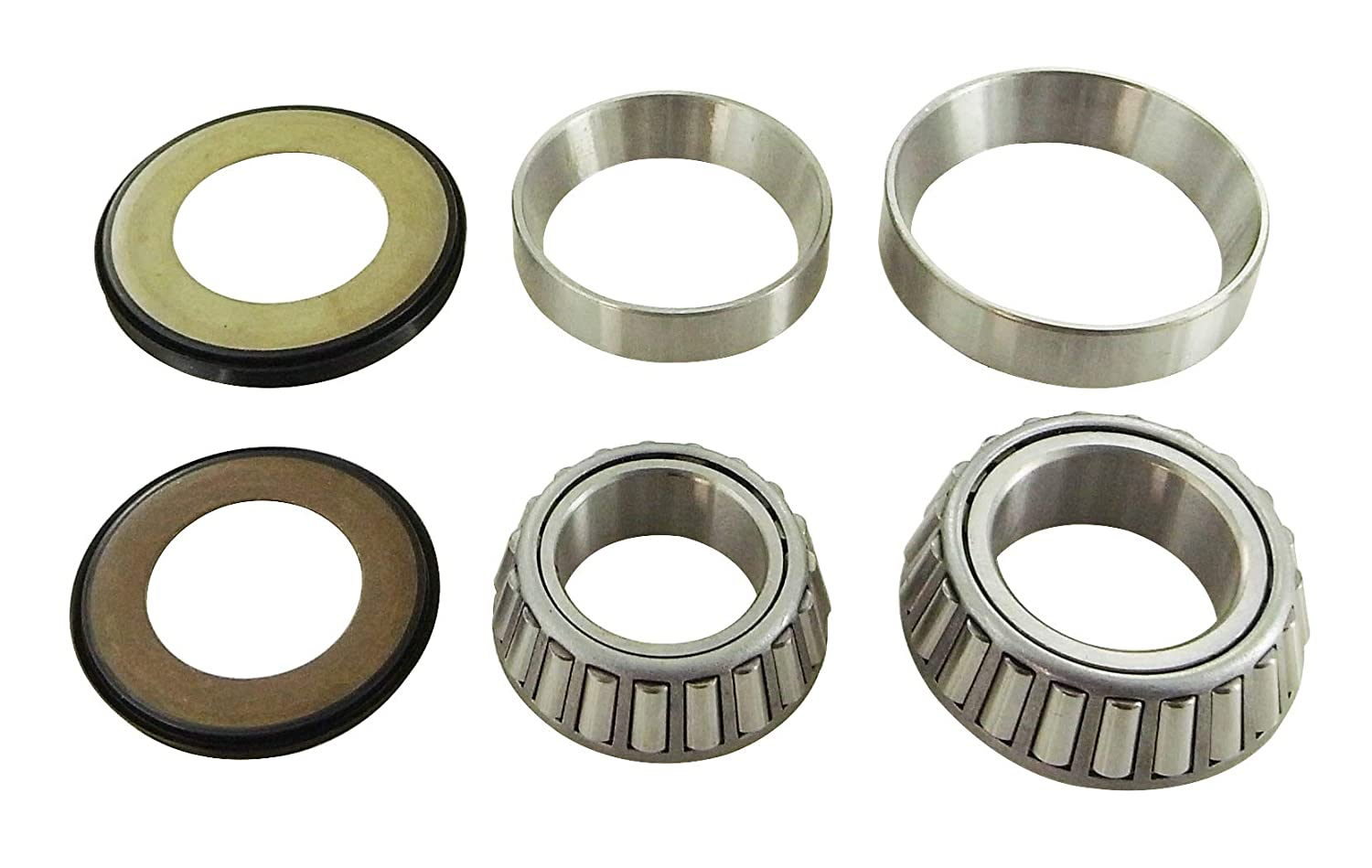 New color HQ Powersports Steering Bearings For Honda Price reduction CBR60 Replacement