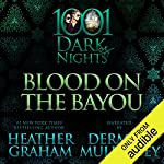 Blood on the Bayou audiobook cover art