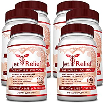 JetRelief -100% Pure & Natural with no Melatonin