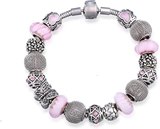 Mestige MSCB3013 Rhodium Plated Passion Bracelet for Women,Silver