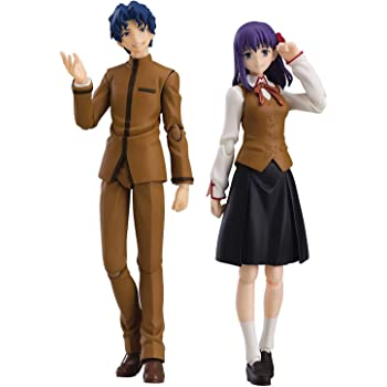 figma Fate/stay night [Heaven's Feel] 間桐慎二&間桐桜 ノンスケール ABS&PVC製 塗装済み可動フィギュア
