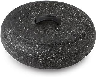 Dexas Extra Large Microwavable Tortilla Warmer, Granite Pattern
