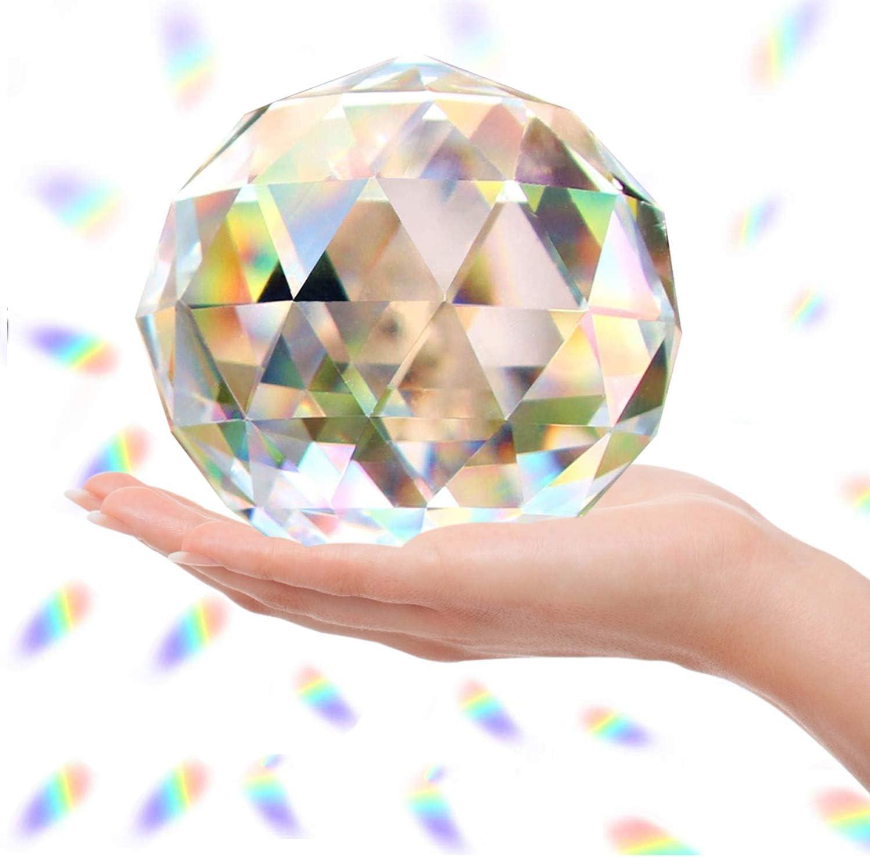 Together-life Clear Glass Crystal Ball Under blast sales Mak Japan's largest assortment Rainbow Window Prisms