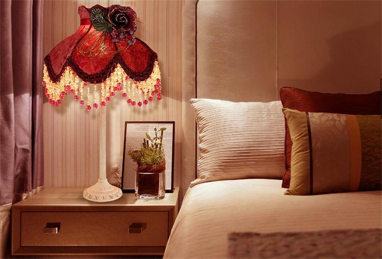 TOYM UK-Schlafzimmer Bett Wohnzimmer dekoriert Luxus hochwertigen Stoff pastoralen Prinzessin Trauung Raum warm gelbe Glühlampe B01CCQC6W4   | Moderne Technologie