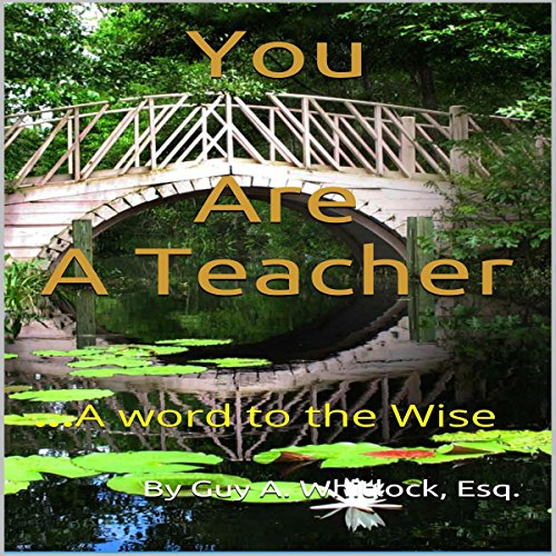 You Are a Teacher cover art