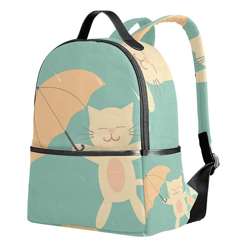 透けて見える不適切な連合ユサキ(USAKI) リュック リュックサック 通学 アニメ ネコ 猫柄