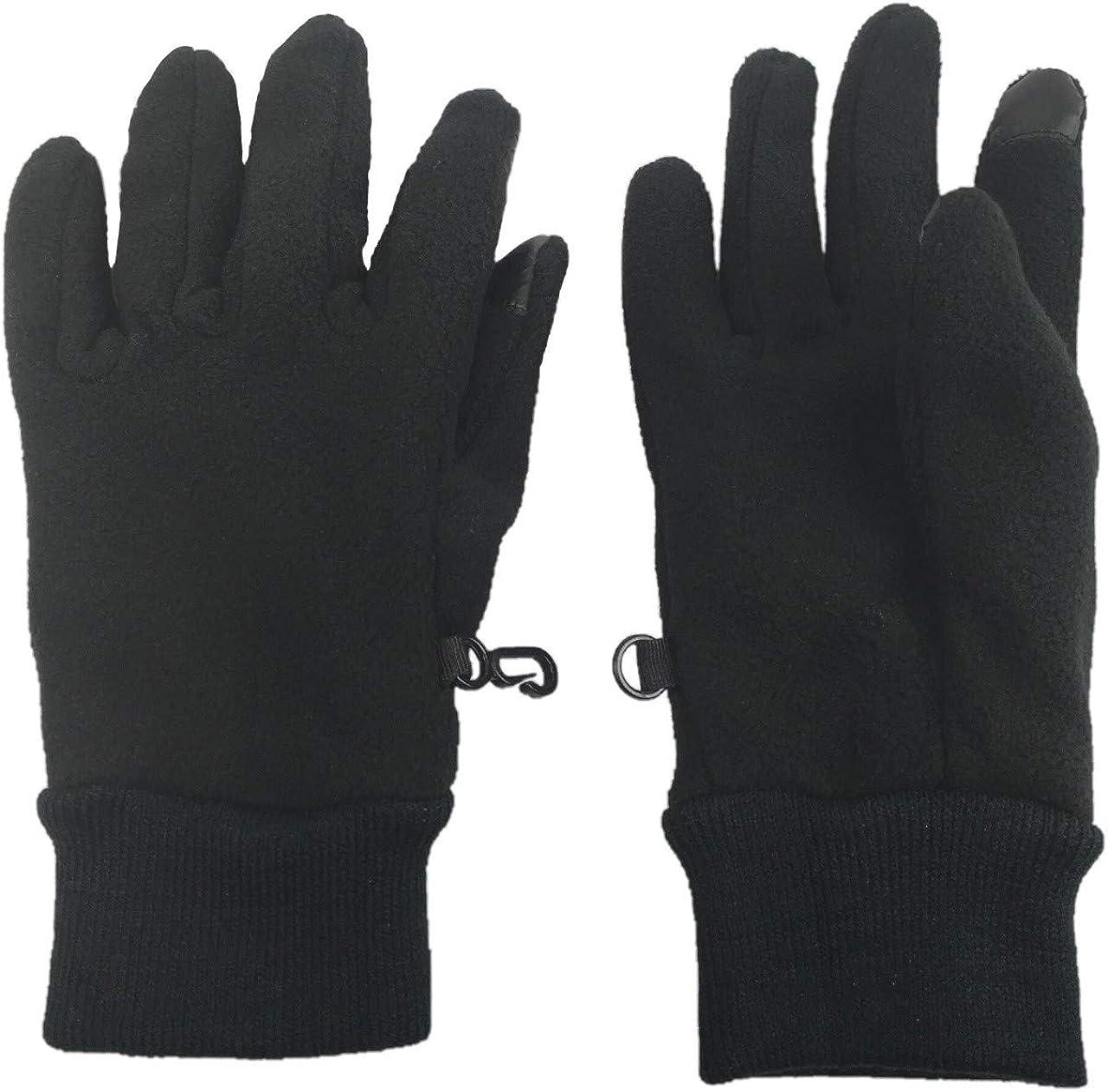 N'Ice Caps Women's Warm Sherpa Lined Fleece Touchscreen Gloves