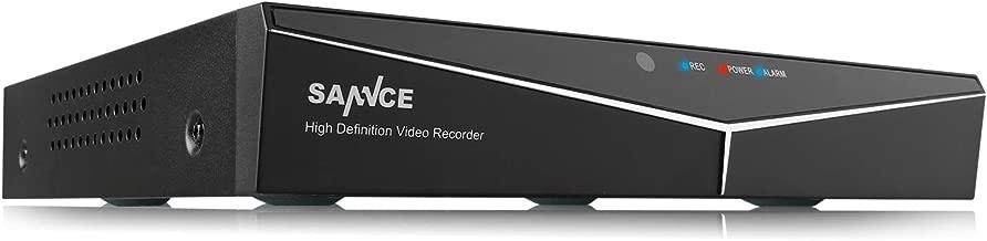 SANNCE 8CH Netzwerk DVR Digitaler Videorekorder (Voll 1080N H.264 P2P) CCTV Sicherheit Bewegungserkennung E-Mail Alarm für Überwachungskamera