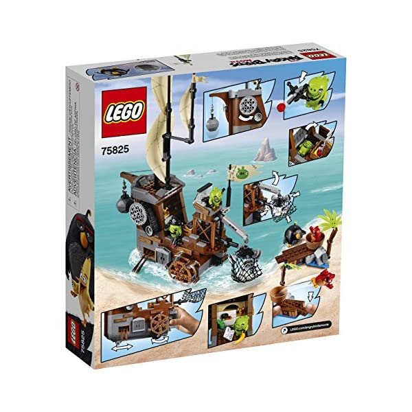 LEGO Angry Birds 75825 Piggy Pirate Ship Building Kit (620 Piece) 4