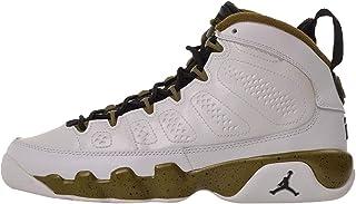 c0c779e74ab Jordan Big Kids Air 9 Retro BG (White/Black/Militia Green)