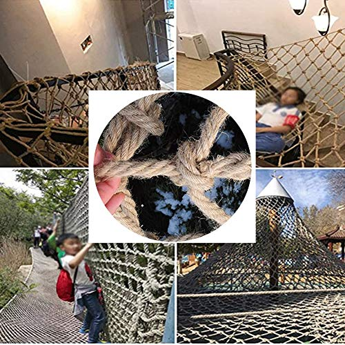 New GZHENH Rope Net Rope Net Decor Net ,Decoration Retro Wall-Mounted Safety Stable Durable,Custom...