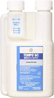 Tempo Ultra SC 240 ML (8.12 oz) Multi Use Pest Control Insecticide ~ Spiders Bedbugs..