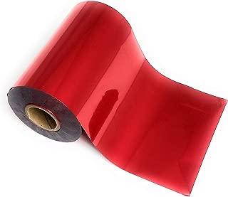 Medium Red Bright Metallic Toner Reactive Craft Foil - Large 4