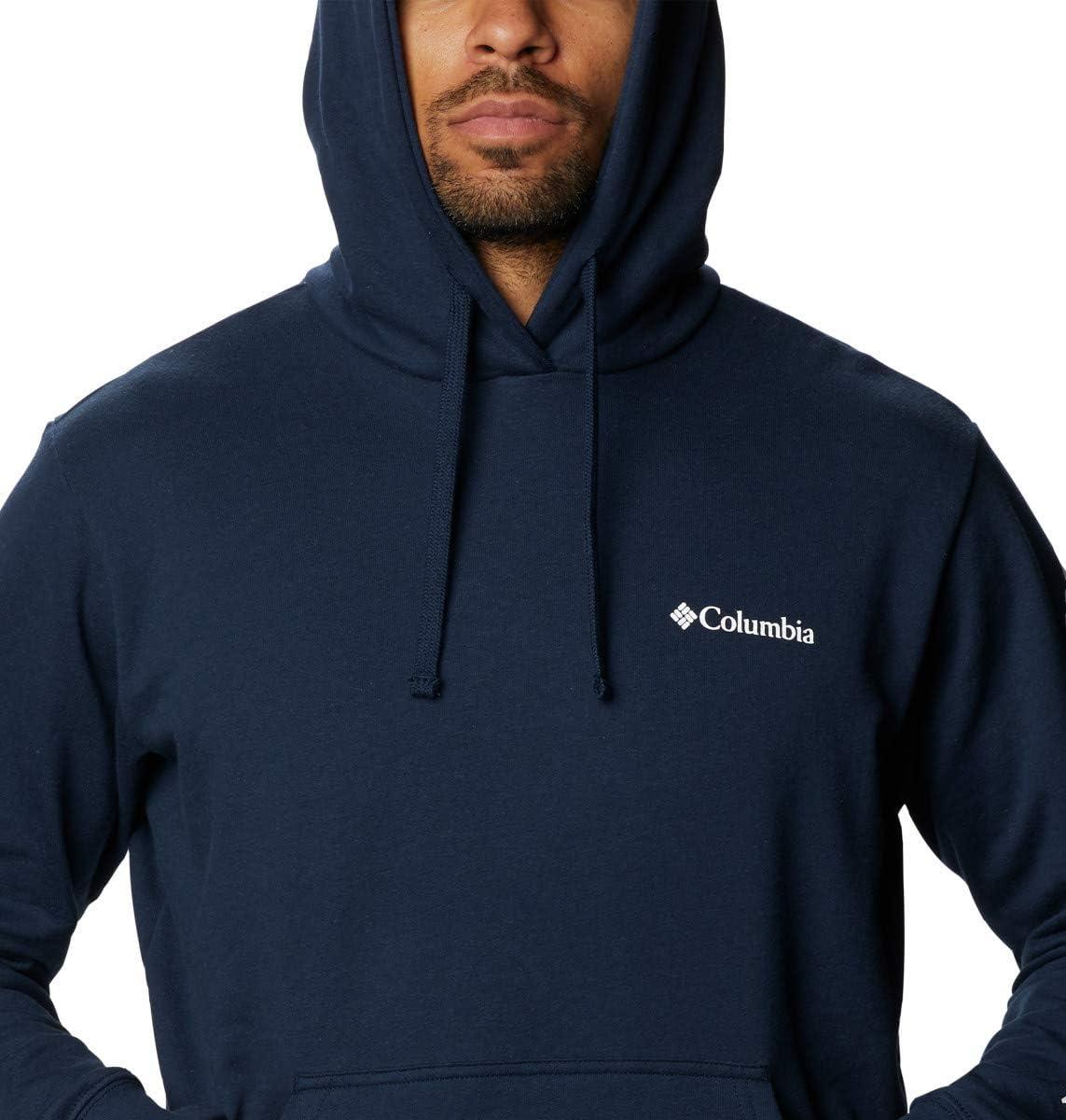 Columbia Mens Viewmont Ii Sleeve Graphic Hoodie Hiking Shirt