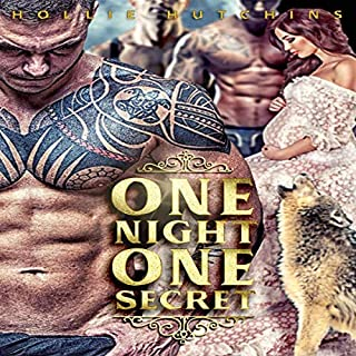 One Night One Secret audiobook cover art