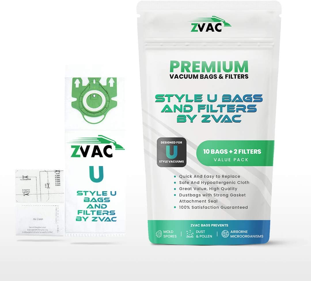 ZVac Miele Special price Type U Replacement Vacuum Cleaner - HEPA Bags Sales R Cloth
