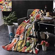 Elxmzwlob Plush Blanket Japanese Sleeping Bags & Camp Bedding 60