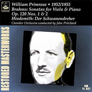 Brahms: Viola Sonatas, Op. 120 - Hindemith: Der Schwanendreher