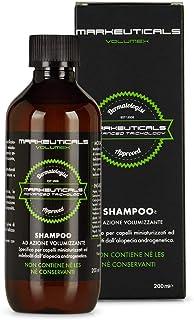 Markeuticals Volumex Shampoo SH 200 – Shampoo anticaduta professionale con ingredienti di origine naturale, nuova formula ...