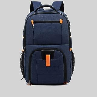 LPFMM Large Capacity Light Shoulder Bag, Leisure Travel Backpack Backpack (Color : Orange)