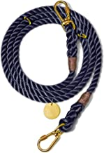 product image for Found My Animal Navy Rope Dog Leash, Adjustable Large
