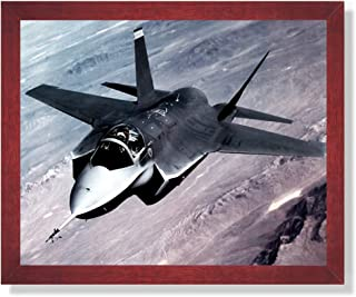 X-35 Joint Strike Fighter Jet Aircraft Airplane Picture Framed Art Print