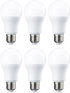 Amazon Basics E27 LED Lampe, 10.5W (ersetzt 75W), warmweiß, 6er-Pack