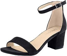 Amazon.com: Block Heel Shoes and Sandals
