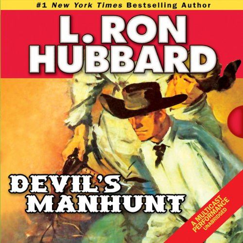 Devil's Manhunt audiobook cover art