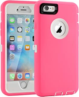 iPhone 6/6s Case, Heavy Duty Shockproof Scratch-Resistant iPhone Shell Case for 4.7