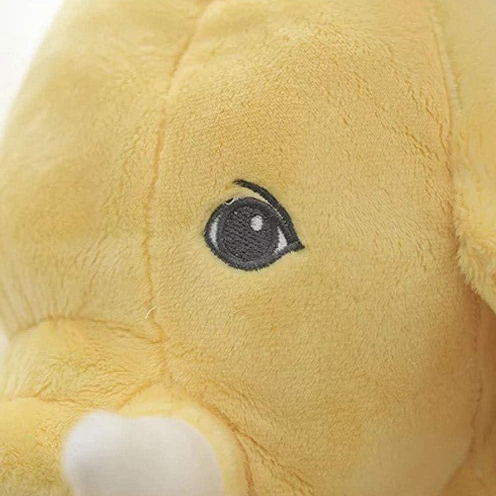 Beige Tickos Almohadas de Elefante Beb/é Elefante de Peluche Juguetes de Elefante Gris Coj/ín de Felpa Elefante Regalos Perfectos para Reci/én Nacidos Ni/ñito Infantes