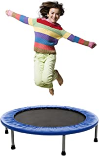 Mini Rebounder Trampoline - Exercise Fitness Trampoline for Adults and Kids with Safety Pad, Max Load 220lbs