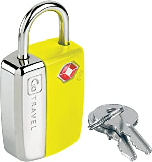 Go-Travel Luggage Lock, Yellow, 338Y