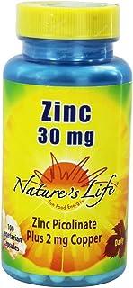 Nature's Life - Zinc 30 mg. - 100 Vegetarian Capsules