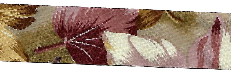 BEEKLEY BOWS Vintage Floral Calico Printed Craft Sewing Ribbon Trim (1-1/2
